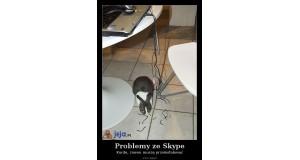 Problemy ze Skype