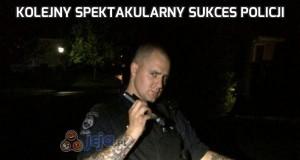 Kolejny spektakularny sukces policji