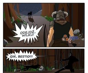 Zabiłem wilka!