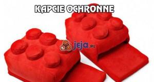 Lego kapcie ochronne