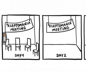 Spotkanie kleptomanów