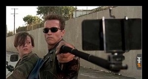 Terminator robił selfie