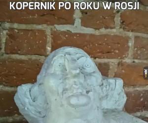 Kopernik po roku w Rosji