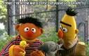 Ernie z Bertem mieli dość obsranego parapetu
