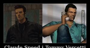 Claude Speed i Tommy Vercetti