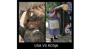 Rosja vs USA - Siła