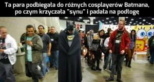 Cosplay rodziców Batmana