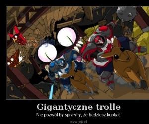 Gigantyczne trolle
