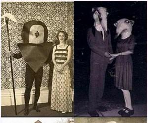 Przebrania na Halloween z dawnych lat...