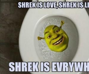 Shrek jest wszędzie
