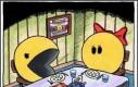 Pacman niezadowolony z obiadu