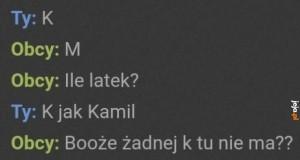 K jak Kamil