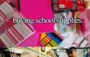 Kupowanie szkolnej wyprawki