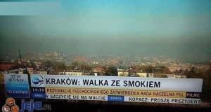 A nie ze smogiem?