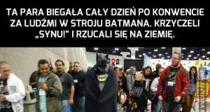 Cosplay - rodzice Batmana