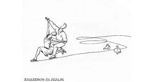 Samobójstwa zajączka: Zajączek i łyżwiarze