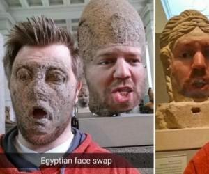 Egipskie face swapy