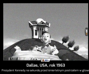 Dallas, USA, rok 1963