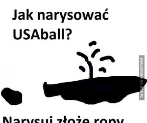 Jak narysować USAball?