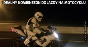 Idealny kombinezon do jazdy na motocyklu