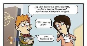 Wszyscy wiedzą, że Clark to Superman