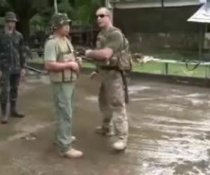 Dziwne te wojskowe treningi