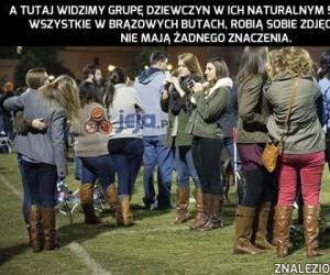 Dziewczyny w ich naturalnym środowisku