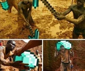 Kopalnia w Afryce