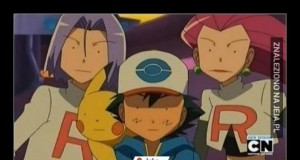 Ash, Pikachu i Team Rocket