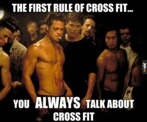 Pierwsza zasada cross fitu