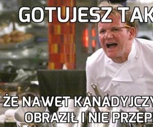 Już nie chcę być kucharzem