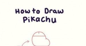 Jak narysować Pikachu