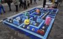 Iluzja na chodniku - Pacman
