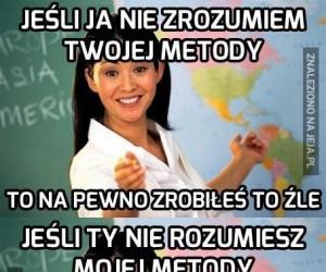 Z nauczycielką nie wygrasz