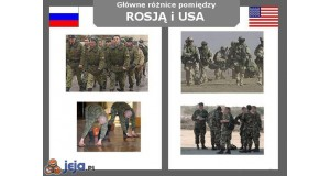 Rosja vs USA - Fryzury