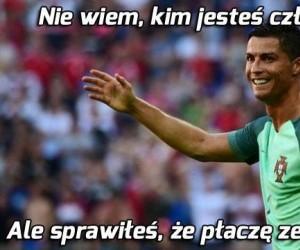 Ronaldo po golu Edera