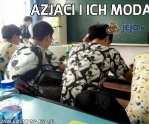 Azjaci i ich moda