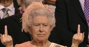 Pozdrowienia od królowej!