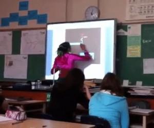Straszny labirynt w w szkole