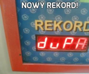 Nowy rekord!
