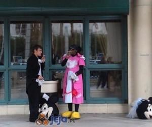 Przerwa pracowników Disneylandu