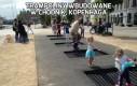 Trampoliny wbudowane w chodnik, Kopenhaga