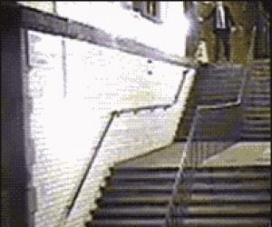 Nowy sposób schodzenia po schodach