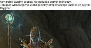 Cosplay smoczego kapłana