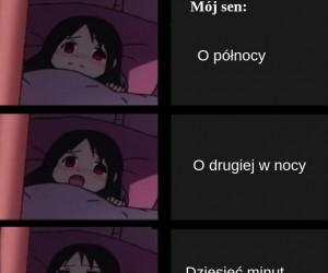 Za każdą nieprzespaną nocą