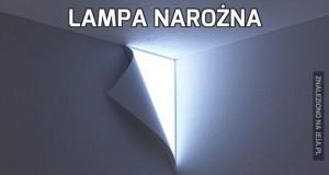 Lampa narożna