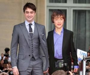 Obsada Harry'ego Pottera przy pierwszej i ostatniej części