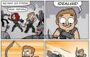 Hawkeye i jego nowa broń