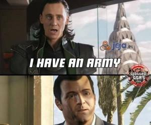Mam armię...