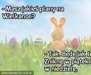 Plany na Wielkanoc